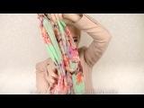 15 способов красиво завязать шарф