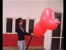 balloon pump to pop
