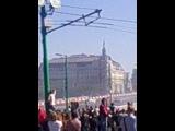 Заезды болидов Формулы-1 в Москве(7)
