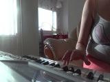 Мои первые уроки на синтезаторе